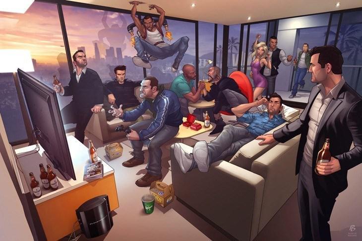 GTA-Characters