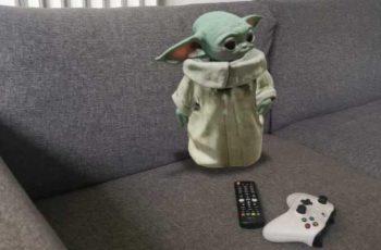 Como tener a Baby Yoda en el living de casa con realidad aumentada.