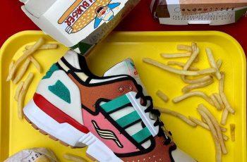La adidas ZX 10000 «Krusty Burger» se lanza esta semana
