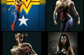 Wonder Woman de Todd Mcfarlane llegó