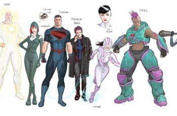 Primer vistazo: Superman The Autority por Grant Morrison y Mikel Janin
