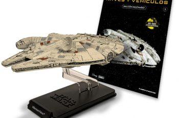 Planeta De Agostini presenta una coleccion de 60 naves y vehiculos de Star Wars