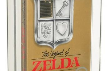 Una copia sellada de 'The Legend of Zelda' para NES rompe el récord del juego más caro de la historia