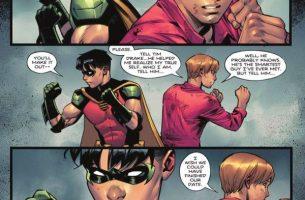 Robin sale del armario como bisexual en el nuevo cómic de Batman